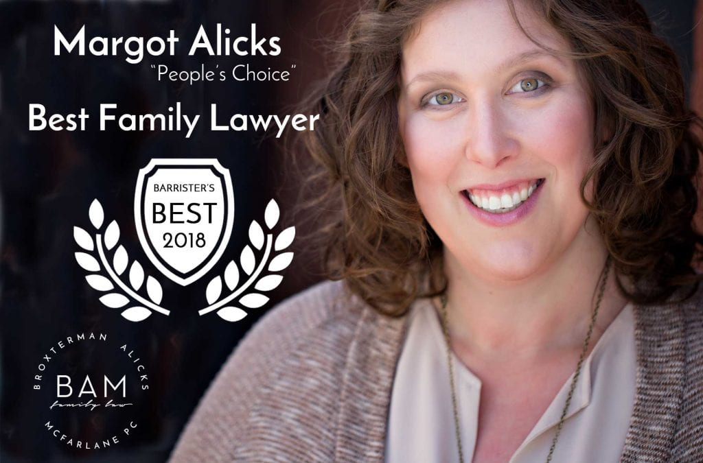 Margot Alicks Honored as Barrister's Best 2018