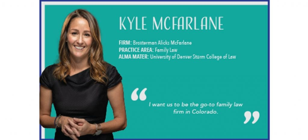 Kyle McFarlane Named an Up & Coming Lawyer by Law Week Colorado