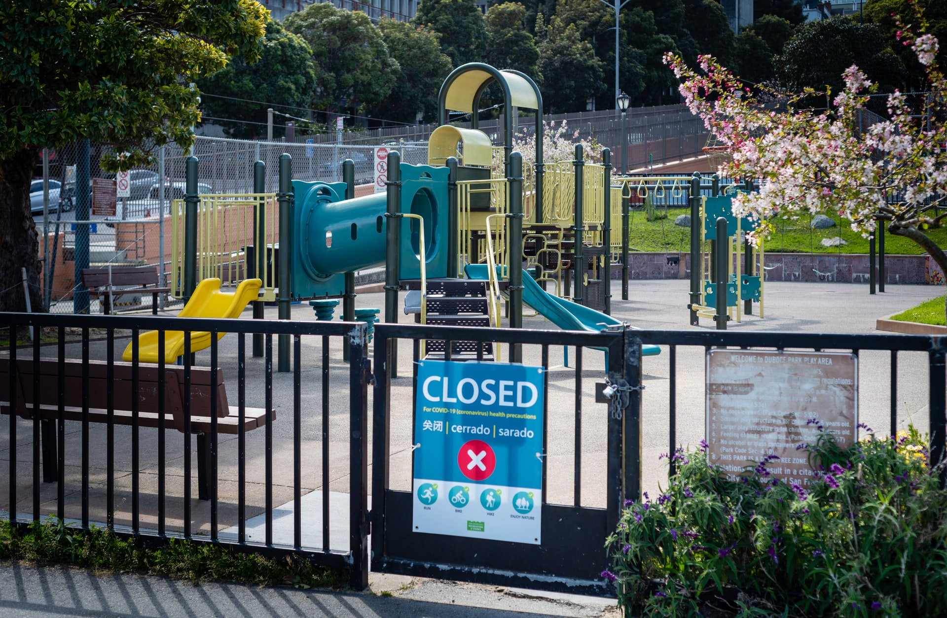 Shelter in Place - Playground Closed